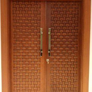 Pintu Kusen Jati Minimalis Terbaru