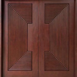 Pintu Kusen Minimalis 2 Daun