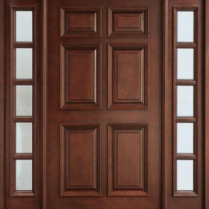 Pintu Kayu Desain Minimalis